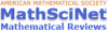 MathSci Net (AMS)