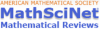MathSci Net (AMS)